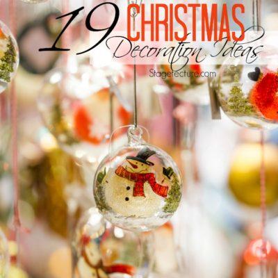 19 Creative Christmas Decoration Ideas to Try this Season