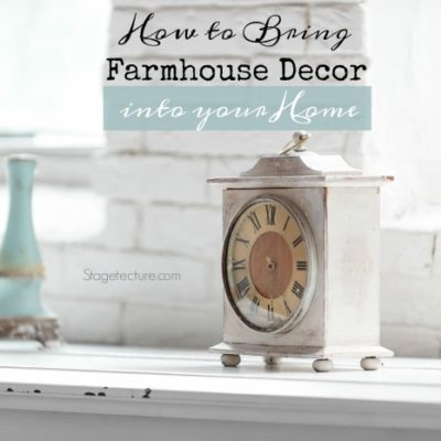 How to Bring Antique Farmhouse Decor into your Stylish Home