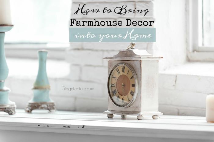 farmhouse decor home