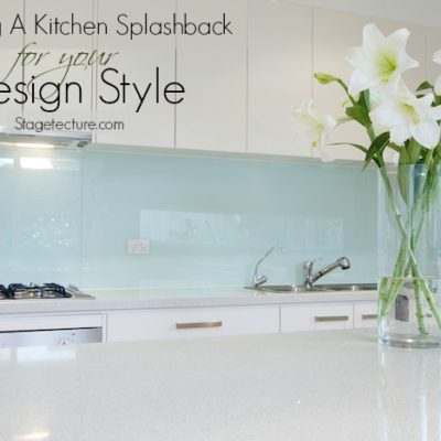 Choosing a Kitchen Splashback to Suit your Style