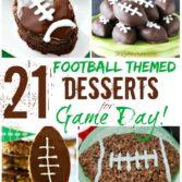 football themed desserts super bowl