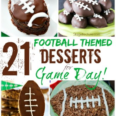 21 of Our Favorite Football Themed Desserts