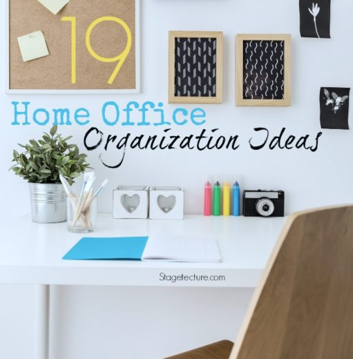 19 New Year Organizing Tips for Home Office Organization
