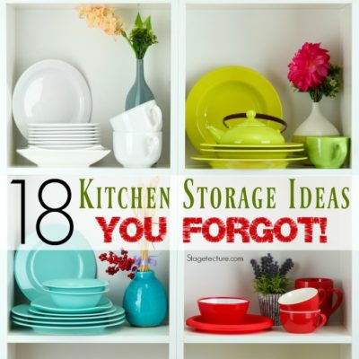 18 Hidden Kitchen Storage Ideas you Forgot About