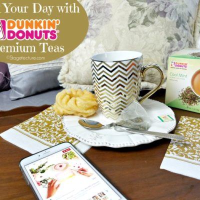 Relax your Day with Dunkin' Donuts Premium Peppermint Tea