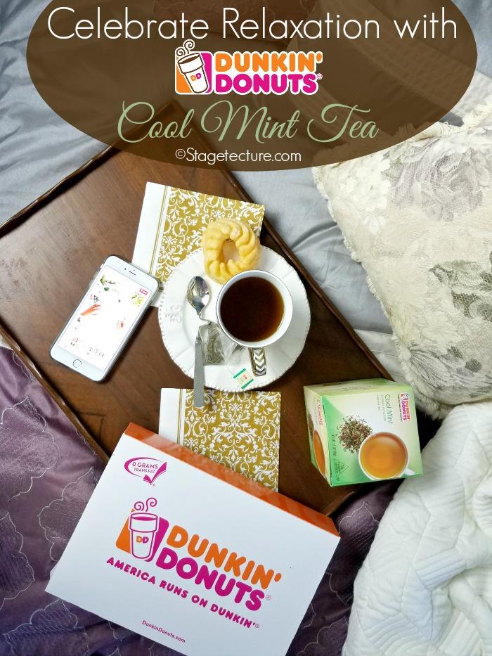 dunkin donuts cool mint tea peppermint tea