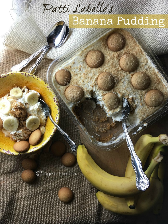 homemade banana pudding recipe Patti Labelle
