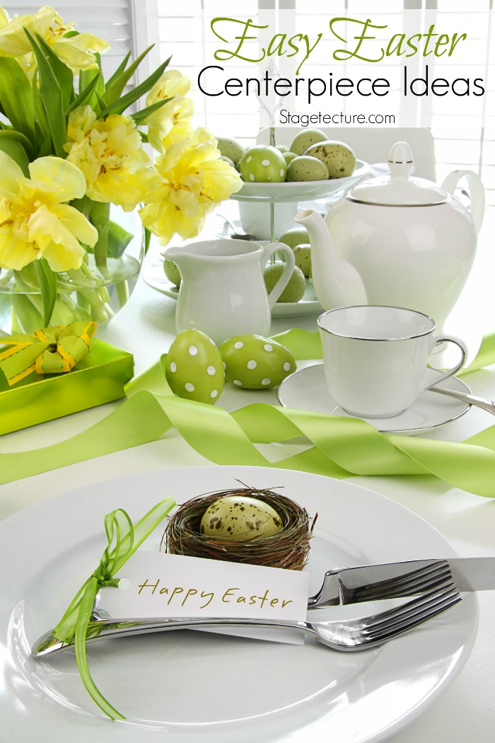 pretty easter centerpiece ideas