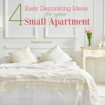 4 Easy Decorating Ideas for Your Small Apartment