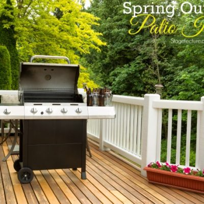 Preparing your Family and Home with Spring Outdoor Patio Ideas