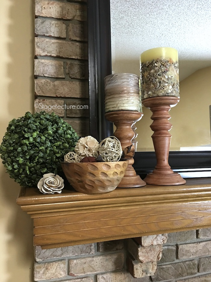 Croscill bowl mantle decorating ideas