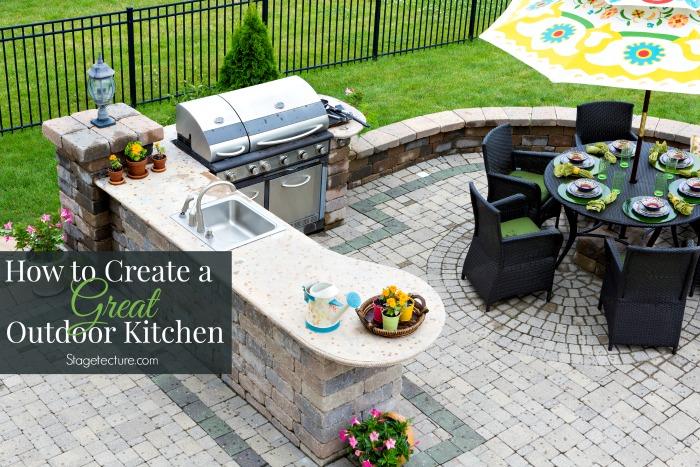 outdoor kitchen bbq grill ideas