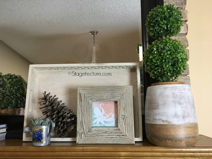 picture frame fireplace mantel decorating ideas