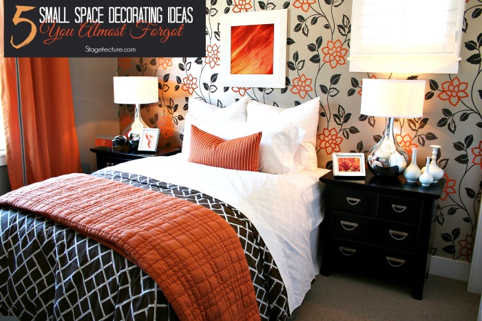 small space decorating ideas forgot