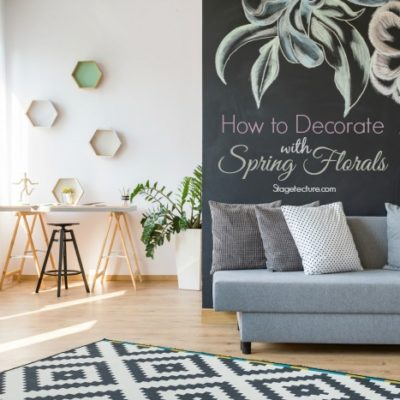 Creative Ways to Bring Spring Florals into Your Home Decor