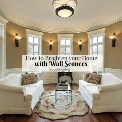 Wall Sconces: How this Forgotten Light Fixture Brightens your Home