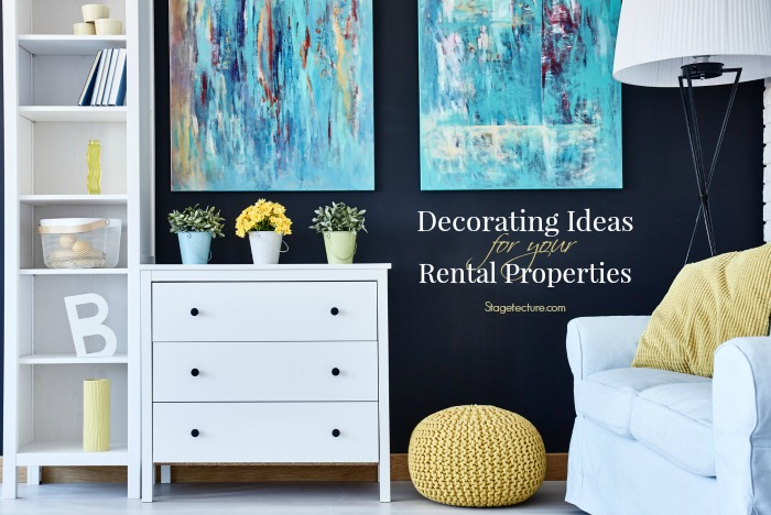 decorating ideas rental properties