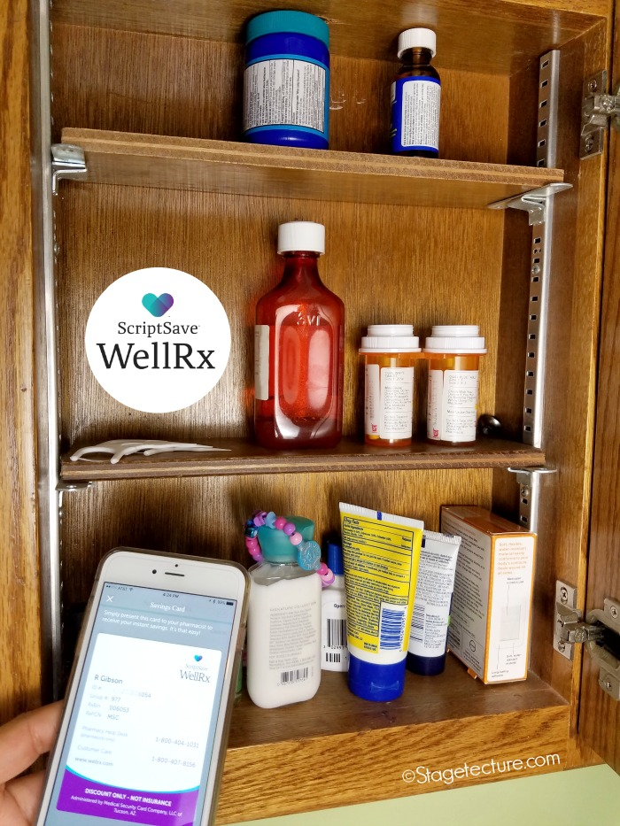 medicine cabinet ScriptSave Well Rx