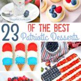 best patriotic desserts summer