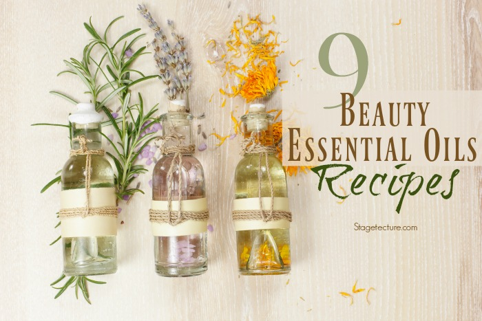 essential oils beauty recipes