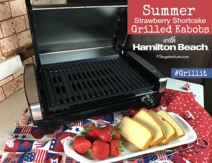 grilled fruit kabobs Hamilton Beach