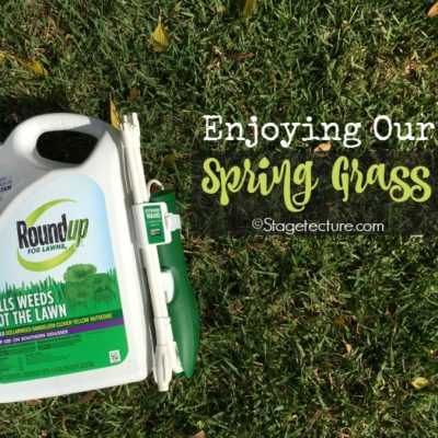Enjoying Our Spring Grass After Using Roundup® For Lawns