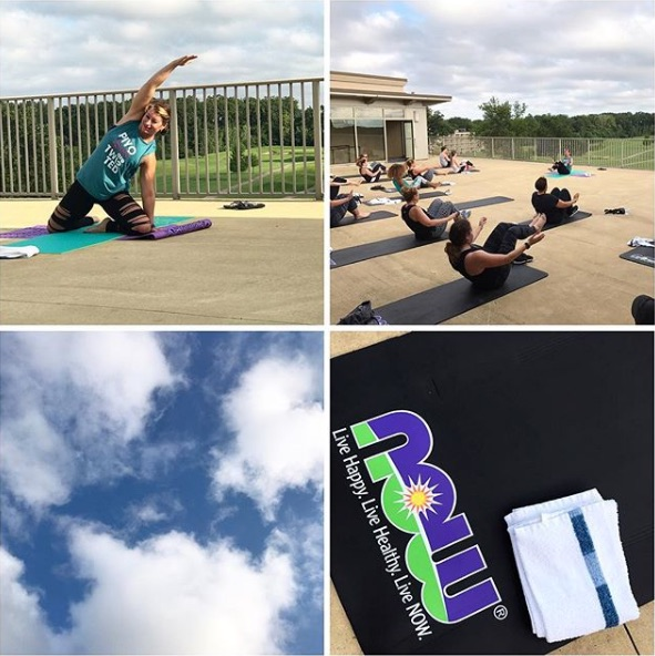 NOW Foods Yoga Workout