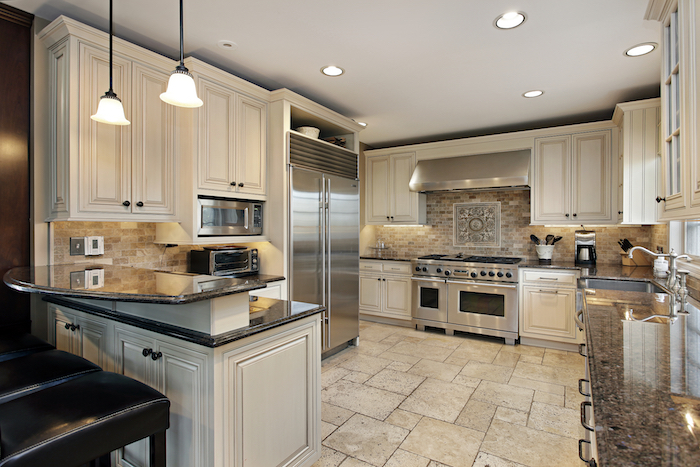 Kitchen Ideas You Can Use Refrigerator With Custom Cabinetry