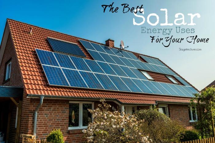 solar energy home ideas