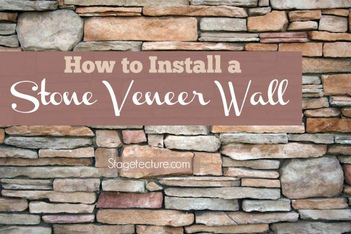 How to Install Interior Stone Veneer (Video)