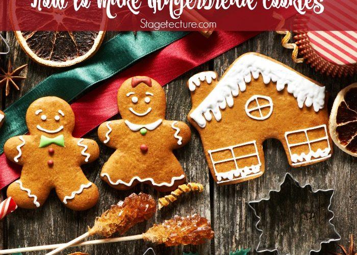 Classic Homemade Gingerbread Cookies Recipe