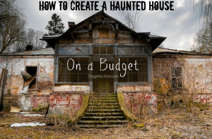 How to decorate your haunted house for halloween on a budget How to decorate ur house