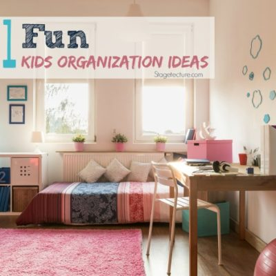 21 Fun Ways to Teach Kids Organization in their Rooms