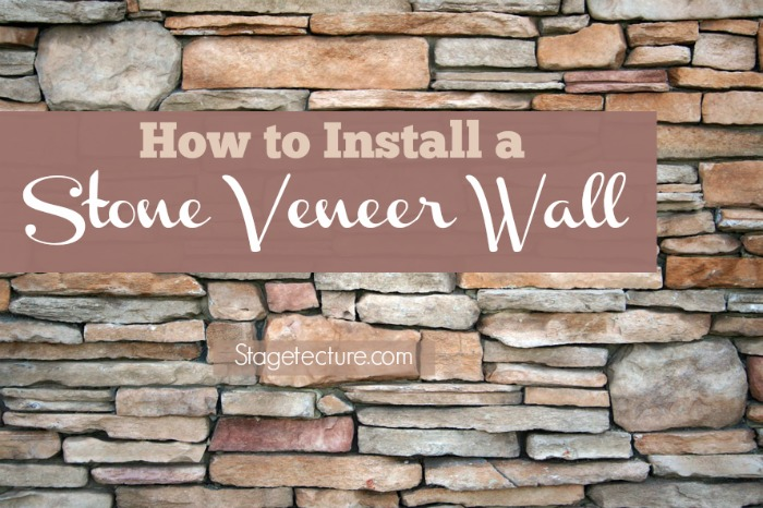 How to install manufactured stone veneer interior for How to install stone veneer over exterior brick