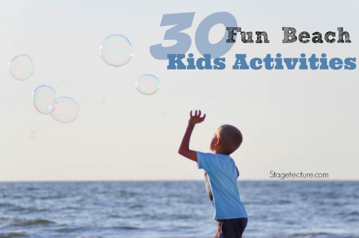 kids summer beach activities