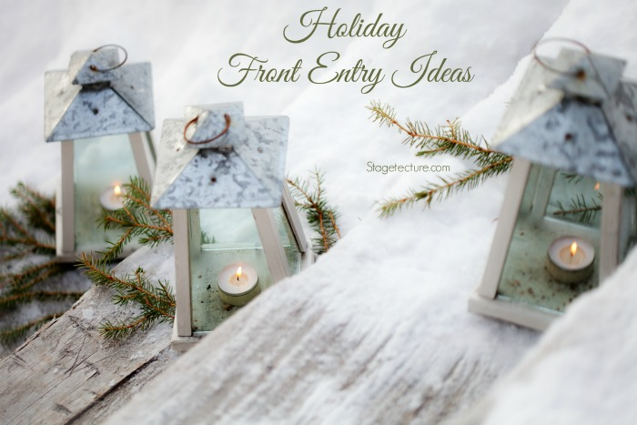 Festive Holiday Front Door and Entry Ideas