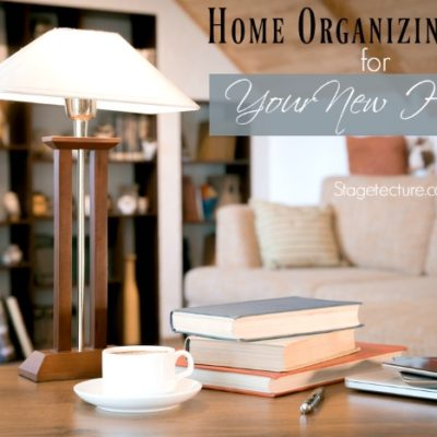 Home Organizing Tips in your Brand New Home