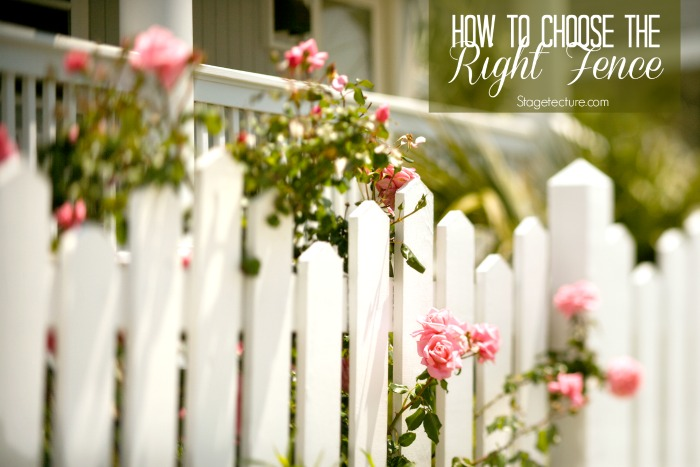 easy outdoor home fence ideas
