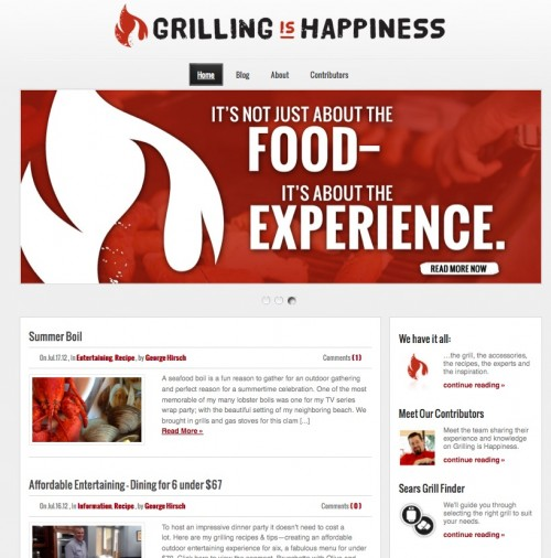Grilling is Happiness blog