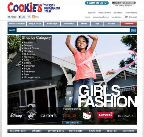 Cookies Kids Girls category