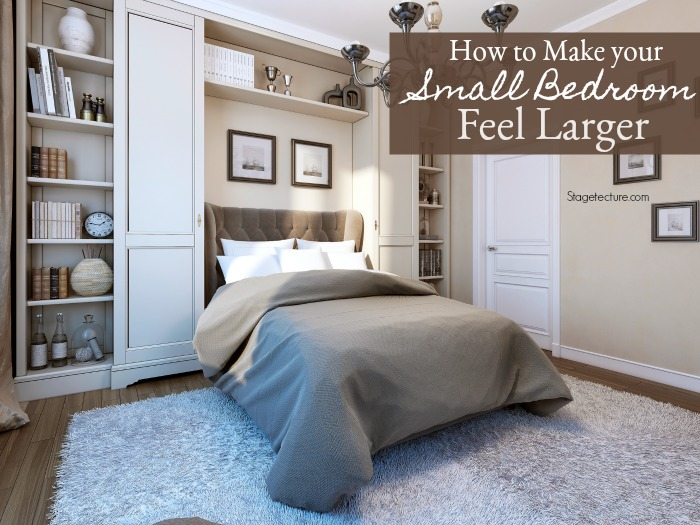 how to make your small bedroom feel larger 21258 | small bedroom ideas
