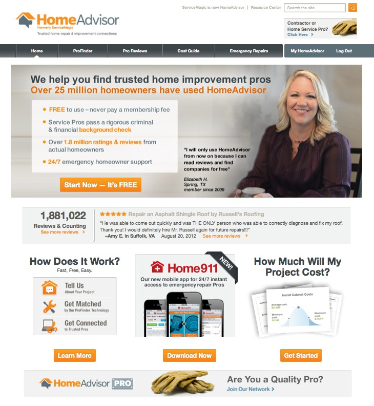 Homeadvisor gets a new look i get a new wood floor for Home advisor