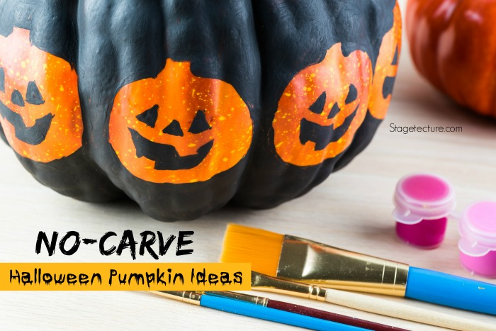 Simple Halloween Ideas with No Pumpkin Carving