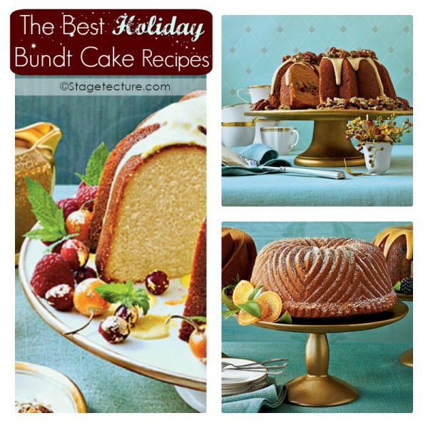 Stagetecture Holiday Bundt Cake Recipes