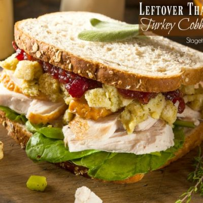 Thanksgiving Leftovers Idea: Roasted Turkey Cobb Sandwich Recipe