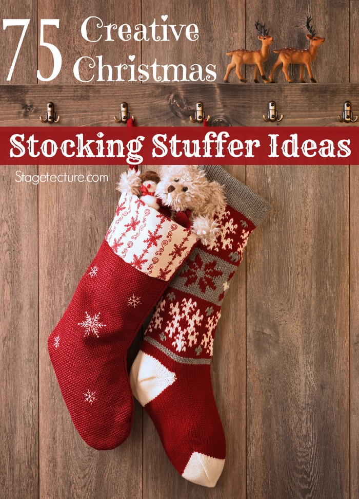 Christmas stocking stuffer ideas
