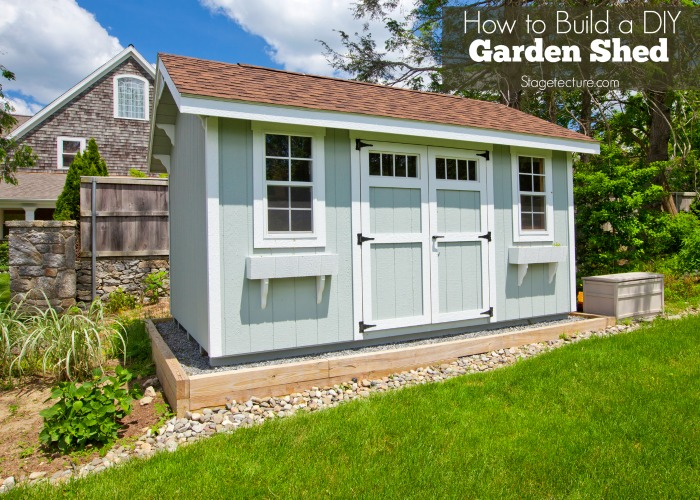 DIY Garden Shed Ideas