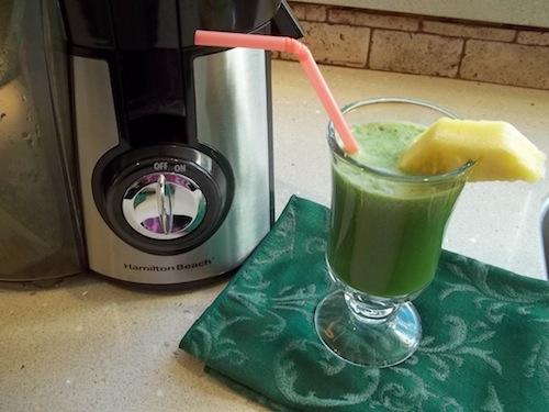 hamilton beach juicer green juice recipe idea