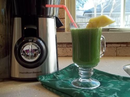 hamilton beach juicer green juice recipe