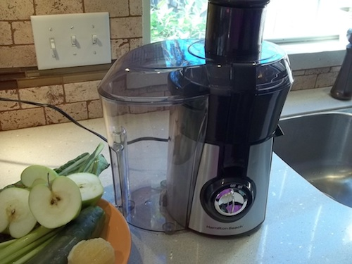 Healthy Year Start with My New Hamilton Beach Juicer – Sweet Greens Juice Recipe